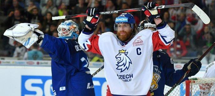 Český kapitán Jakub Voráček litoval nepovedené první poloviny zápasu proti Finsku