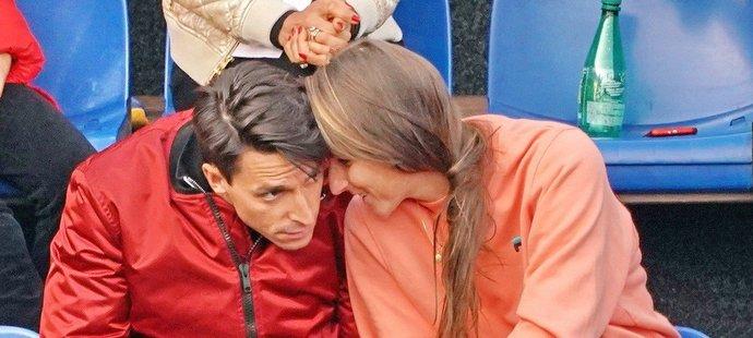 Karolína Plíšková si v úterý zašla na tenis do Stromovky s manželem Michalem Hrdličkou