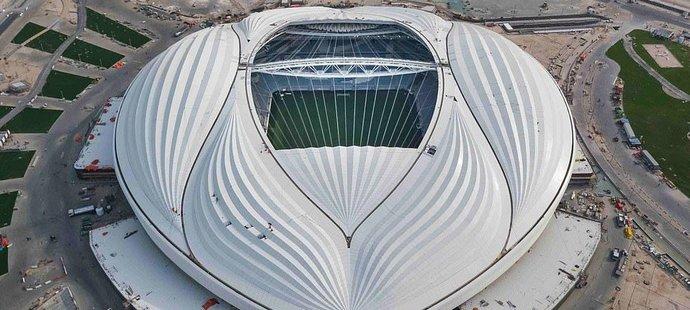 Některým lidem nový stadion v Kataru připomíná vaginu