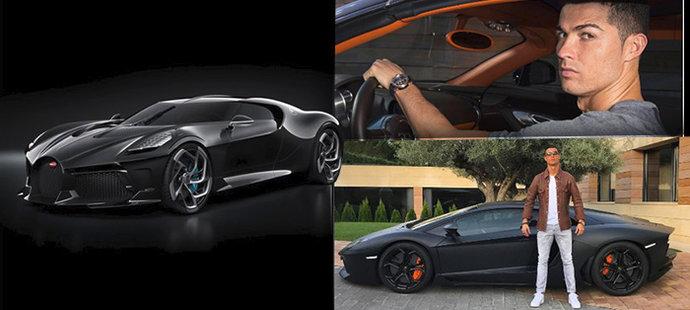Cristiano Ronaldo vlastnil opravdu impozantní sbírku aut