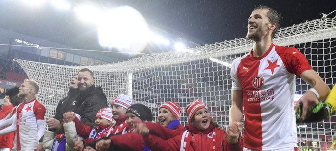 Hrdina Slavie Souček: Plzeň ať si hraje, jak chce. Věřím, že to dotáhneme