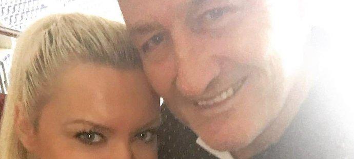 Šťastný pár; Soňa Obšutová a Miloš Říha!