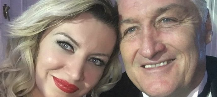 Krásný a usměvavý pár; Soňa Obšutová a Miloš Říha