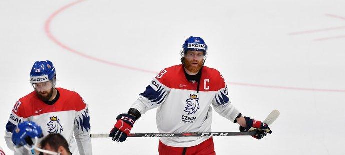 Český kapitán Jakub Voráček byl po semifinálové prohře s Kanadou hodně zklamaný