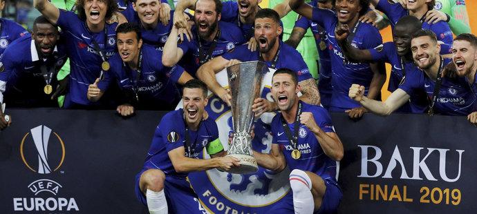 Chelsea slaví vítězství v Evropské lize