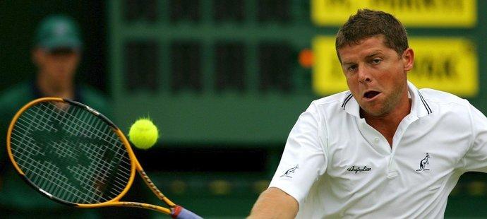Český tenista Jiří Novák ve Wimbledonu