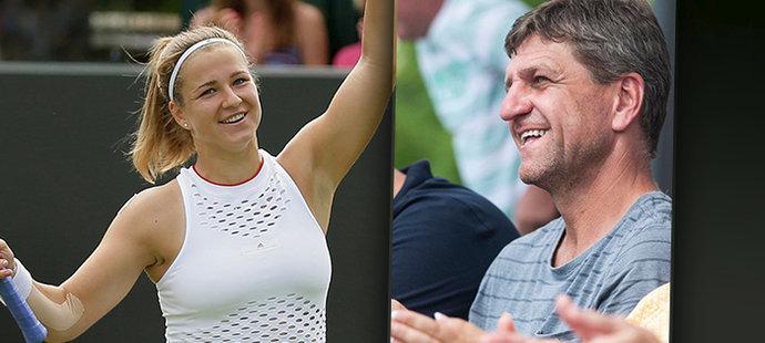 Táta Muchové: jak úspěšný fotbalista vychoval novou tenisovou hvězdu