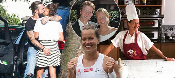 Barbora Strýcová má život pestrý jako hraje tenis!