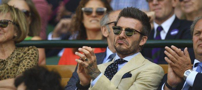 Bitvu Rogera Federera s Rafaelem Nadalem sledoval i David Beckham