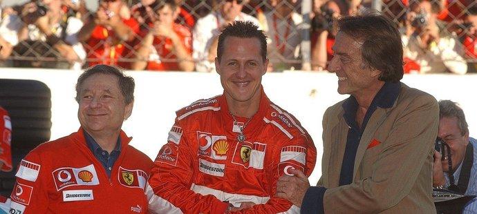 Jean Todt má nadějné zprávy pro fanoušky Michaela Schumachera