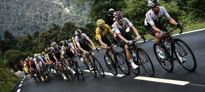"""Cyklisty znovu čeká stoupání na Tourmalet, letos """"pouze"""" jednou"""