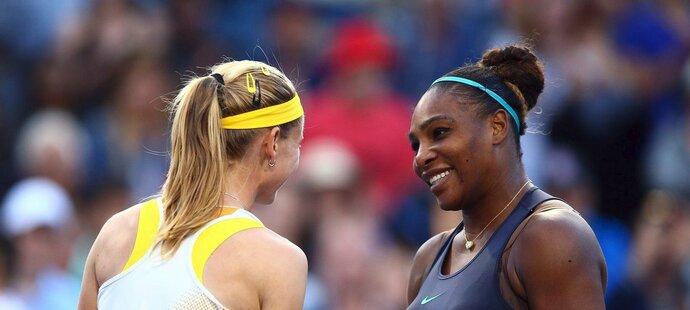 Marie Bouzková další senzační skalp na turnaji v Torontu nepřidala. České tenistka v semifinále prohrála po třísetové bitvě (6:1, 3:6, 3:6) se Serenou Williamsovou.