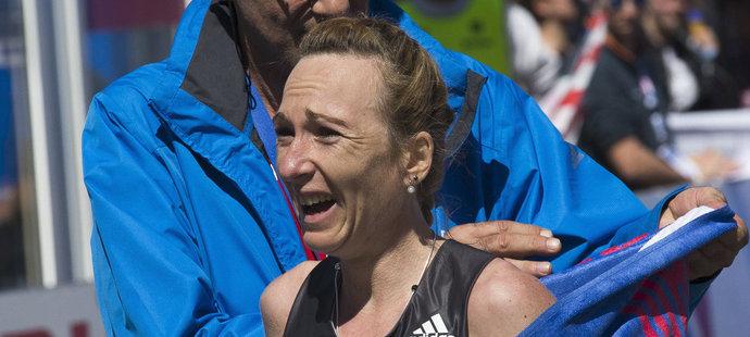 Česká elitní maratonkyně Evra Vrabcová-Nývltová