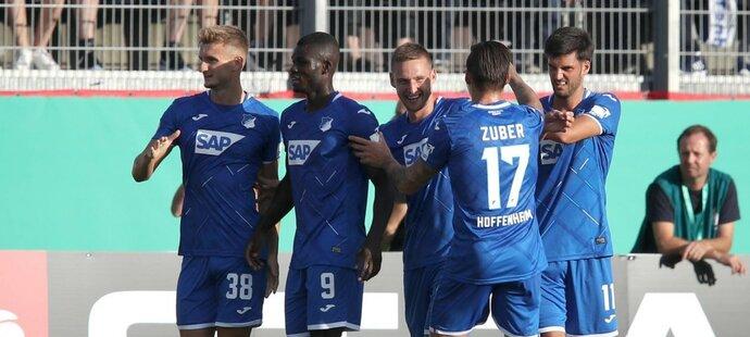 Pavel Kadeřábek rozhodl v 87. minutě utkání 2. kola bundesligy mezi Hoffenheimem a Werderem Brémy