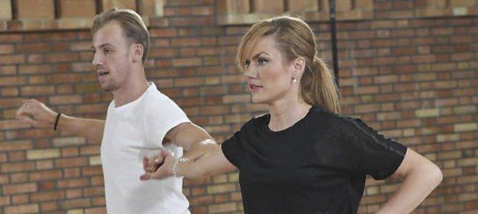 Gabriela Koukalová Martinu Prágrovi nevěřila, jak je tanec náročný. Teď už ví...