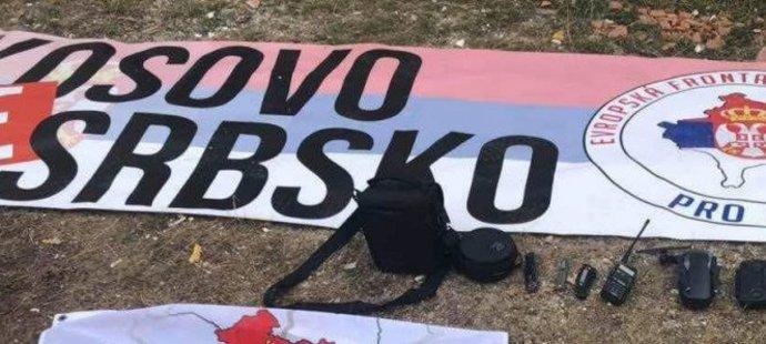 V Kosovu české fanoušky pustili s pokutou! Měli dron a srbskou vlajku