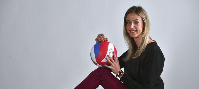 Volejbalistka Helena Havelková je jediná Češka, která prestižní ruskou nejvyšší ligu hraje za Dynamo Moskva.