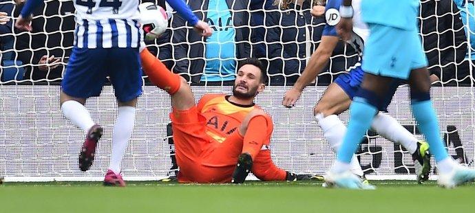 Hororově vyhlížející zranění brankáře Tottenhamu Huga Llorise