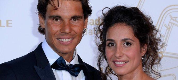 Rafael Nadal s krásnou Xiscou se vzali na Mallorce