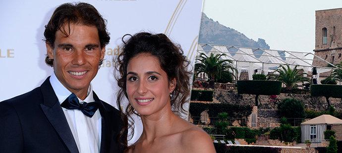 Nadal se oženil na seriálové pevnosti. Na milionové svatbě nechyběl ani král!