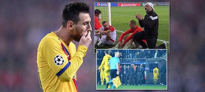 Emoce i slzy v Edenu: Fanoušci chtěli Trpišovského, Messi se vypařil