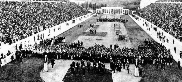 První novodobé olympijské hry 1896 v Aténách