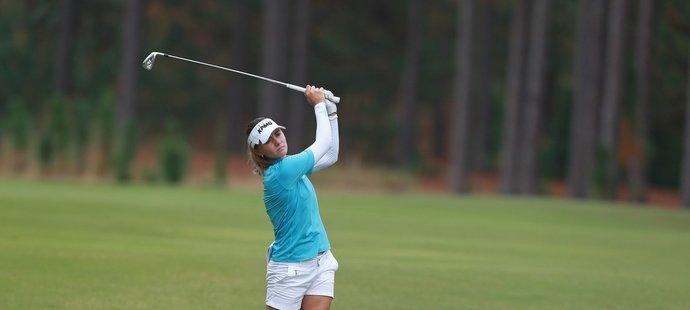 Klára Spilková v úvodních kolech kvalifikačního turnaje LPGA