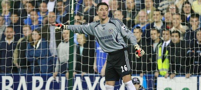 Stoper John Terry musel do brány v roce 2006, gól nedostal