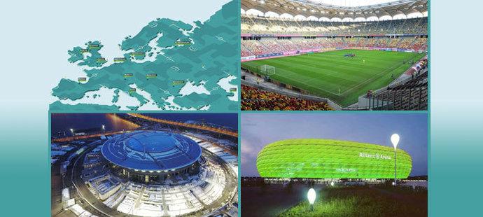 Stadiony pro EURO 2020. Kde bude kdo hrát?