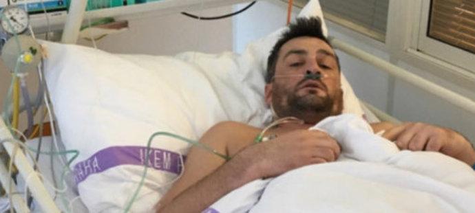 Martin Fenin skončil v nemocnici v pražském IKEM