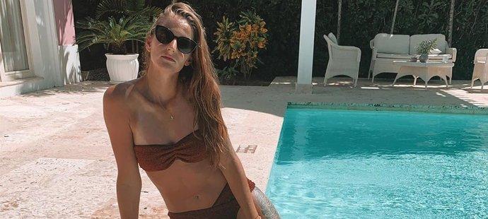 Karolína Plíšková chytá bronz na dovolené