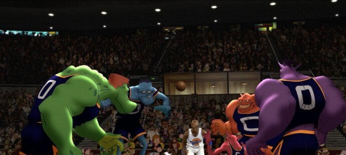 Space Jam se stal hitem, inspiroval i mladé basketbalisty