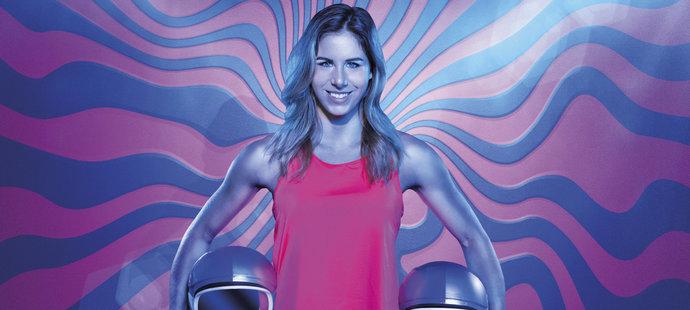 Olympijská vítězka Ester Ledecká v kalendáři