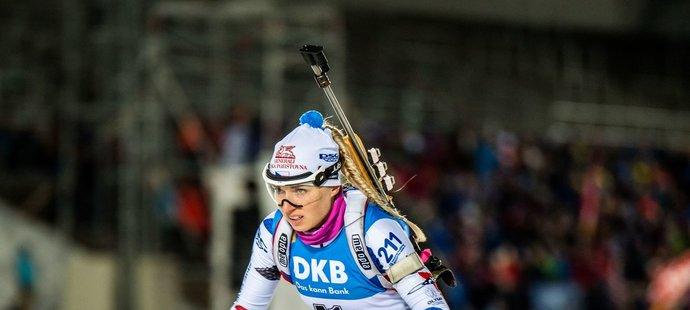 Eva Kristejn Puskarčíková nadělala na střelnici tři chyby, což jí stačilo na konečné 23. místo