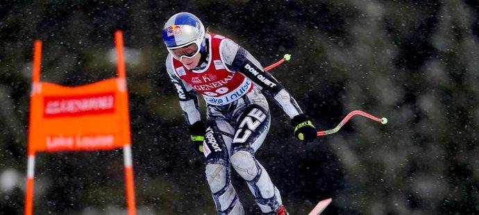 Olympijská vítězka v super-G Ester Ledecká vyhrála sjezd Světového poháru v kanadském Lake Louise