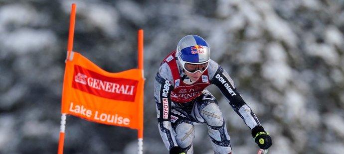 Ester Ledecká i ve druhém závodě ve sjezdu v kanadském Lake Louise zaútočila na přední příčky