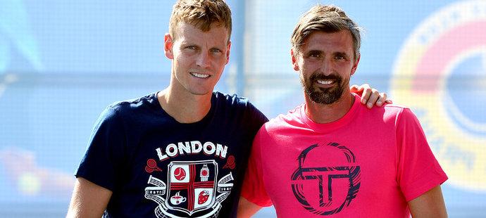 Wimbledonský šampion Goran Ivaniševič spolupracoval s Tomášem Berdychem deset měsíců