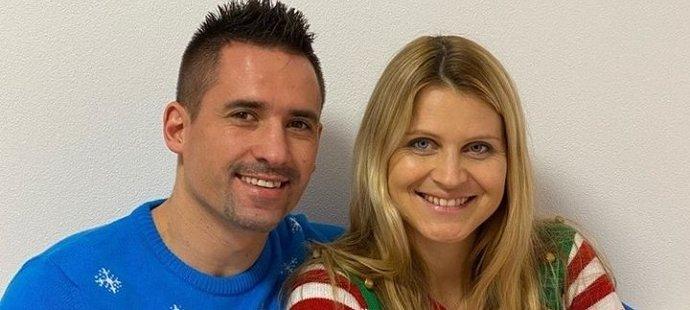 Tomáš Plekanec má s tenistkou Lucií Šafářovou dceru Leontýnku