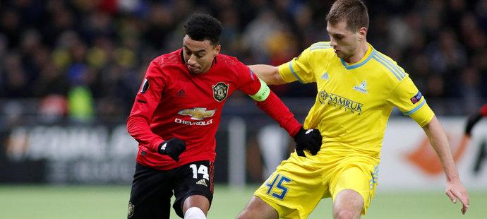 Utkání Manchesteru United proti Astaně v rámci Evropské ligy bylo jediným duelem, ve kterém se Lingard v roce 2019 střelecky prosadil.
