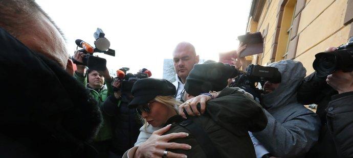 Propuštění Tomáše Řepky z vězení