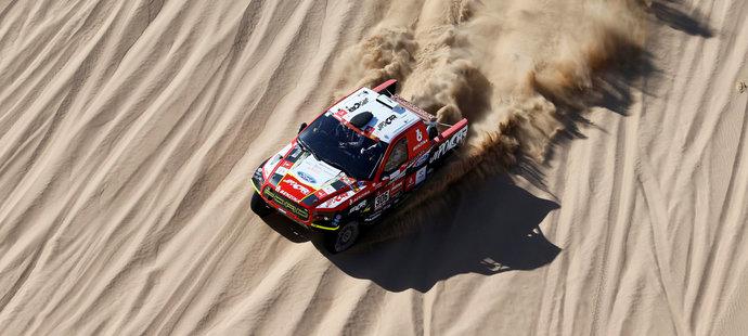 Martin Prokop se na Dakaru posunul do elitní desítky