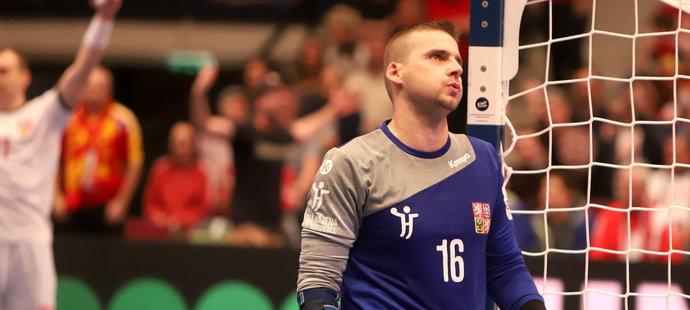 Martin Galia zářil ve druhém českém zápase na ME v házené