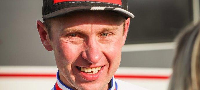 Emil Hekele, 42letý král českého cyklokrosu