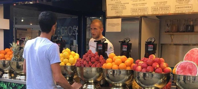 Podle Novaka Djokoviče může za jeho úspěch z velké část úspěch správná strava