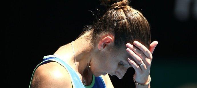 Karolína Plíšková skončila na grandslamovém Australian Open už ve třetím kole.