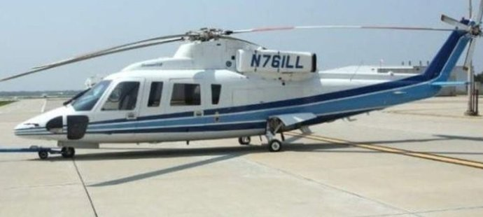 Devětadvacet let starý vrtulník, ve kterém našli smrt Kobe Bryant se třináctiletou dcerou Giannou a dalších sedm lidí - Sikorsky-76B