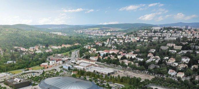 Takhle má vypadat nový stadion Komety Brno