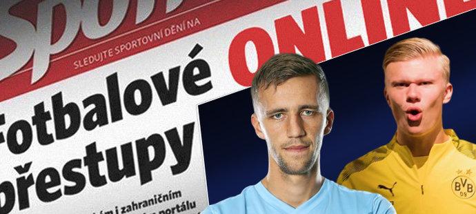 Sleduj fotbalové přestupy online na iSport.cz