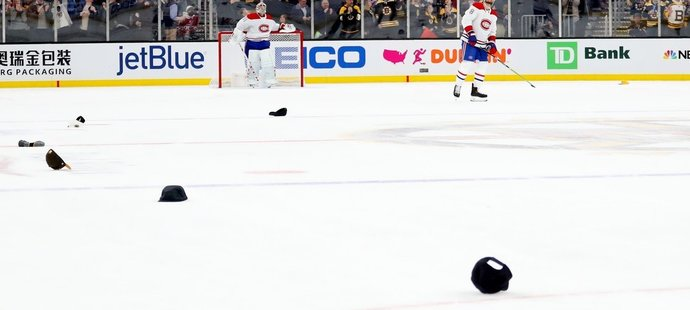 Poházené čepice na ledě po hattricku Davida Pastrňáka proti Montrealu