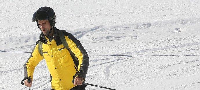 Novak Djokovič krájel v Dolomitech obloučky